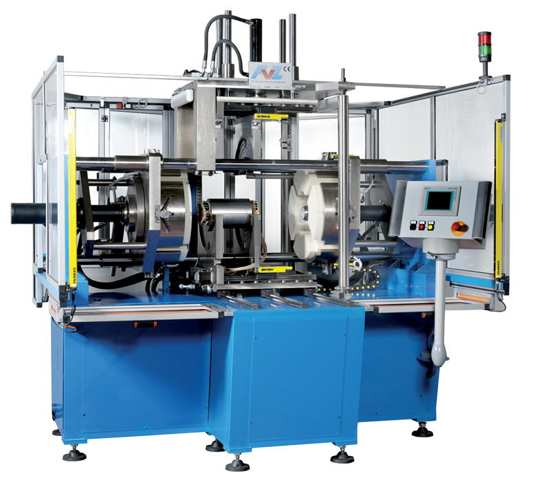 fvz horizontal coil forming machine
