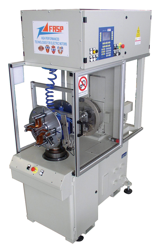 fasp stator shed coil winding machine