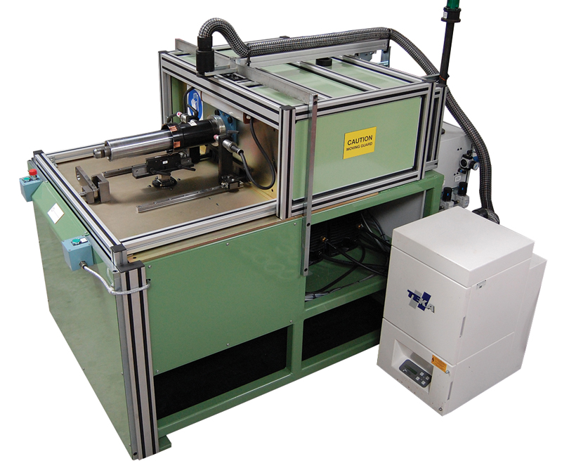 skew and welding machine